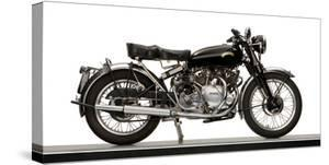 Close-Up of a 1954 Vincent 998Cc Series-C Rapide Motorcycle