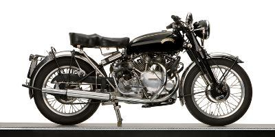 Close-Up of a 1954 Vincent 998Cc Series-C Rapide Motorcycle--Photographic Print