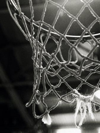 Close-up of a Basketball Net