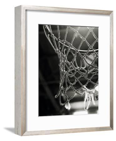 Close-up of a Basketball Net
