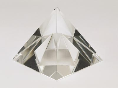 Close-Up of a Crystal Pyramid-G^ Cigolini-Photographic Print