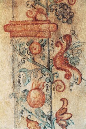 Close-Up of a Mural, Kezmarok, Slovakia--Giclee Print