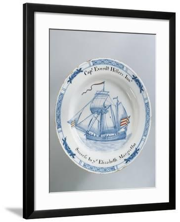 Close-Up of a Plate, England--Framed Giclee Print