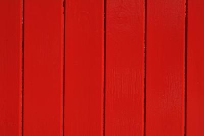 Close Up of a Red Painted Timber Building-Natalie Tepper-Photo