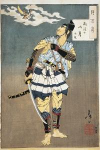 Close-Up of a Samurai Holding a Sword
