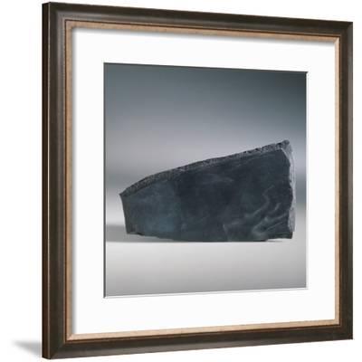 Close-Up of a Slate Rock-C. Dani-Framed Photographic Print