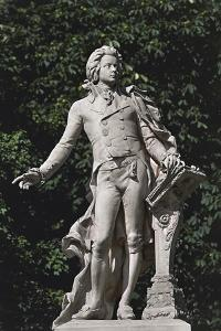 Close-Up of a Statue, Mozart Statue, Vienna, Austria