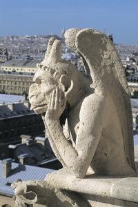 Close-Up of a Statue, Notre Dame, Paris, France
