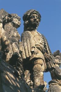 Close-Up of a Statue, Villa Palagonia, Bagheria, Sicily, Italy