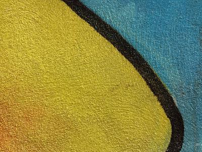 Close-Up of Abstract and Colorful Graffiti--Photographic Print
