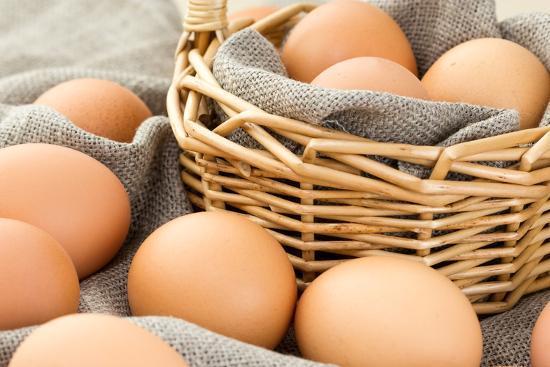 Close-Up of Brown Eggs-Morganka-Photographic Print