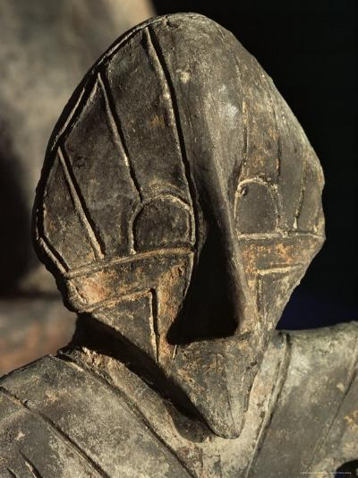 Close-Up of Carving, Vinca Culture, Belgrade Museum, Serbia-Adam Woolfitt-Photographic Print