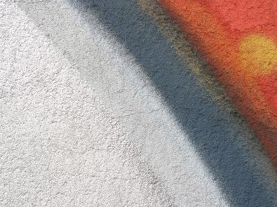 Close-up of Colorful Grafiti on a Stone Wall--Photographic Print