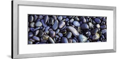 Close-up of Pebbles, Sandymouth Beach, Cornwall, England