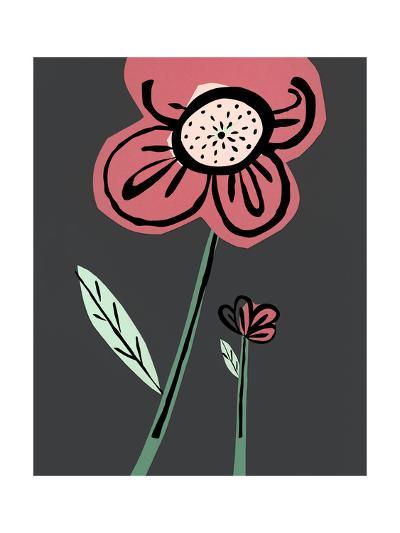 Close-Up of Pink Cartoon Flower--Art Print