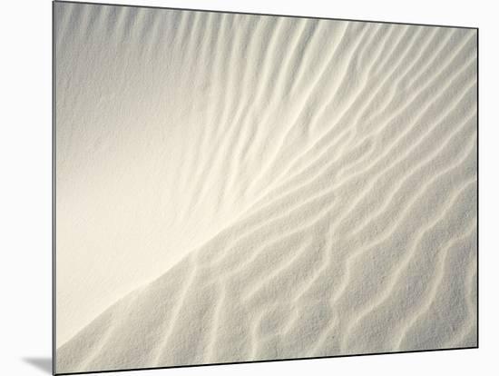 Close-up of Ripples in Sand Dunes-John Eastcott & Yva Momatiuk-Mounted Photo