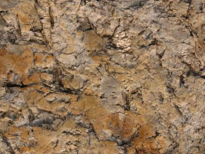 Close-Up of Rough Brown Surface--Photographic Print