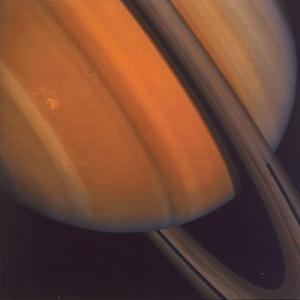Close Up of Saturn's Rings, 1981