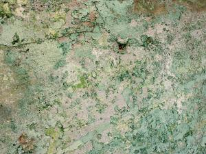 Close-Up of Textured Turquoise Wall