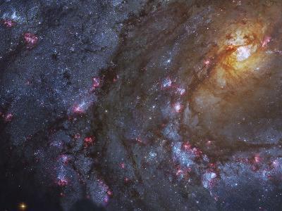 Close-up of the Southern Pinwheel Galaxy-Stocktrek Images-Photographic Print