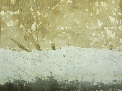 Close-Up of Weathered and Rundown Cement Wall--Photographic Print