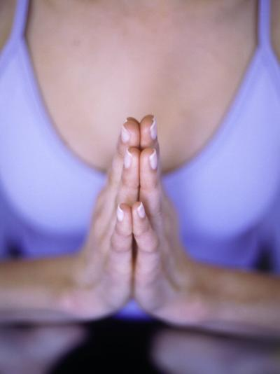 Close-up of Woman Doing Yoga-Elisa Cicinelli-Photographic Print