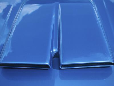 Close-up on Muscle Car Vent--Photographic Print