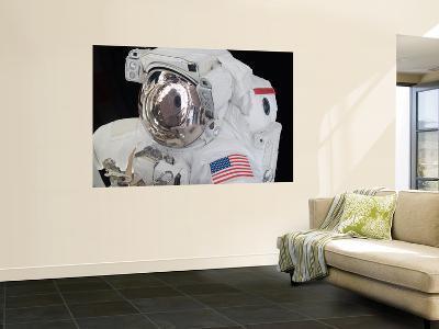 Close-Up View of an Astronaut's Helmet Visor--Wall Mural