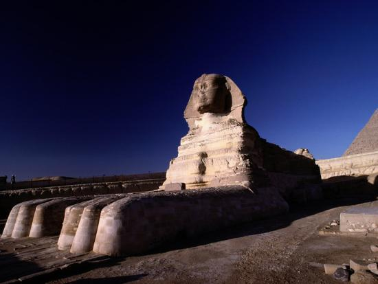 Close View of the Great Sphinx-Richard Nowitz-Photographic Print