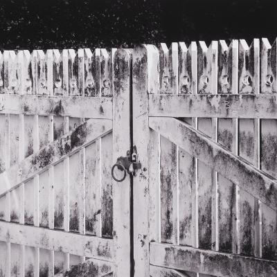 Closed Gate-Graeme Harris-Photographic Print