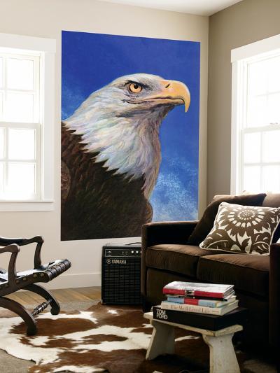 """Closeup of Bald Eagle,"" June 13, 1942-W^W^ Calvert-Giant Art Print"