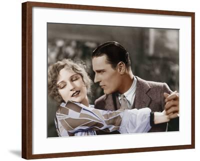 Closeup of Couple Dancing--Framed Photo