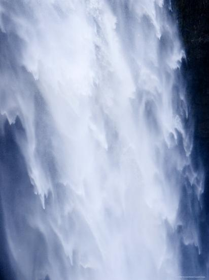 Closeup View of a Waterfall-Tim Laman-Photographic Print