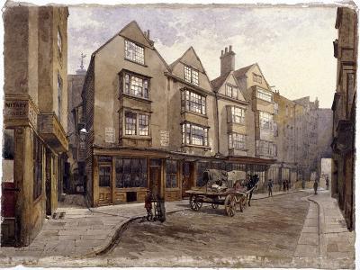 Cloth Fair, London, 1884-John Crowther-Giclee Print
