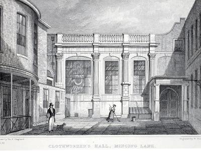 Clothworker's Hall-Thomas Hosmer Shepherd-Giclee Print