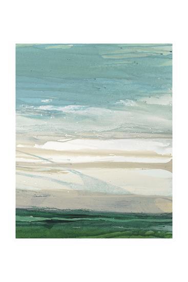 Cloud Cover 2-Lora Gold-Art Print