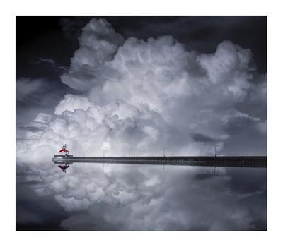 Cloud Desending-Like He-Giclee Print