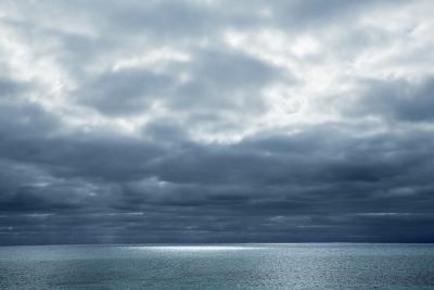 Cloud Impression at Ocean-Frank Krahmer-Photographic Print