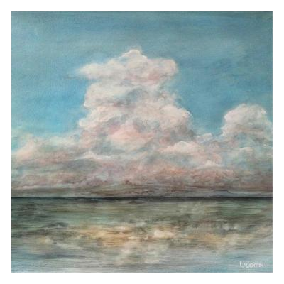 Cloud In The Distance-Peter Laughton-Art Print