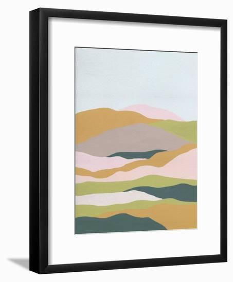 Cloud Layers II-Melissa Wang-Framed Art Print
