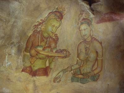 Cloud Maidens, Sigiriya, Sri Lanka-Harding Robert-Photographic Print