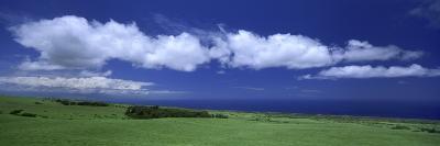 Cloud over a Landscape, Kohala, Big Island, Hawaii, USA--Photographic Print