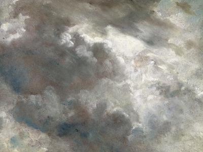 Cloud Study, 1821 (Oil on Paper Laid Down on Paper)-John Constable-Giclee Print