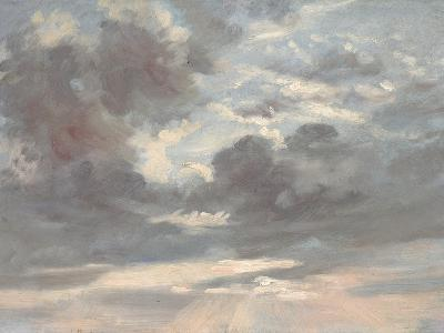 Cloud Study: Stormy Sunset, 1821-2-John Constable-Giclee Print