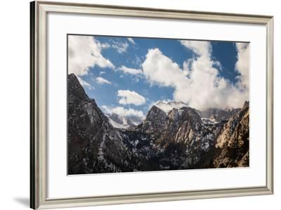 Clouds Above Mount Whitney-Ben Horton-Framed Photographic Print