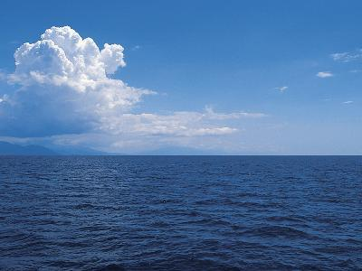 Clouds above the Sea--Photographic Print