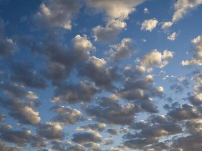 Clouds and Sky at Sunrise-Stephen Alvarez-Photographic Print