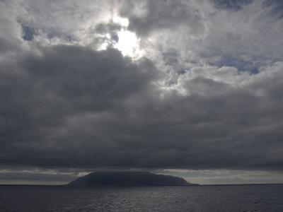 Clouds Covering the Peak on Tristan Da Cunha, in the South Atlantic-Kent Kobersteen-Photographic Print