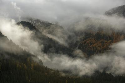 Clouds Drift over Forests in Lagorai-Ulla Lohmann-Photographic Print
