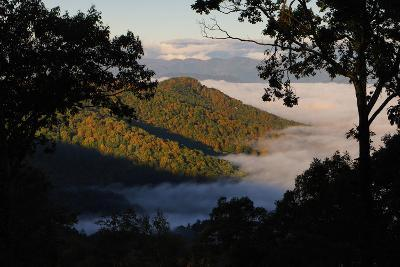 Clouds Fill the Valley Below in the Morning-Amy White and Al Petteway-Photographic Print